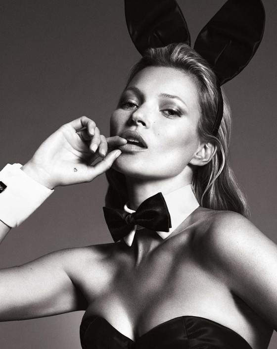 Kate Moss, not a friend either.